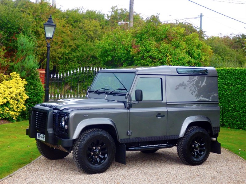 used Land Rover Defender 90 TDCI HARD TOP XS MANY EXTRAS! PREMIUM SEATS! NO VAT! in chelmsford-essex