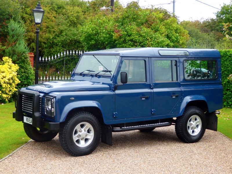 used Land Rover Defender 110 TD XS STATION WAGON in chelmsford-essex
