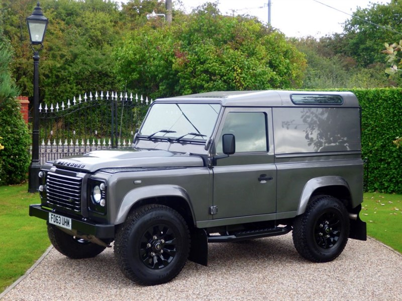 used Land Rover Defender 90 TDCI HARD TOP JUST 26,000 MILES! AIR CON! NO VAT! in chelmsford-essex