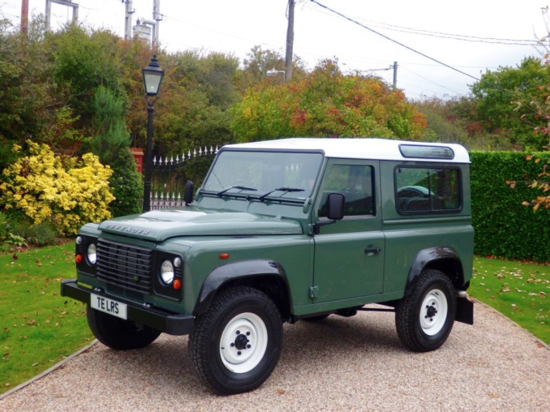 used Land Rover Defender 90 TDCI STATION WAGON DELIVERY MILEAGE! ONE OF THE LAST! in chelmsford-essex