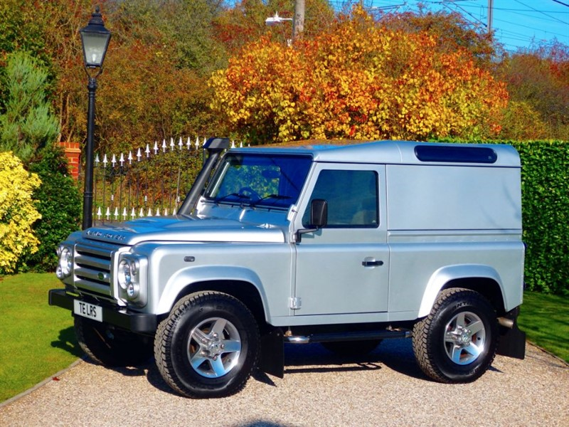 used Land Rover Defender 90 2.2 TDCI HARD TOP £19,995.84 + VAT! FULL LR HISTORY! GREAT SPEC! in chelmsford-essex
