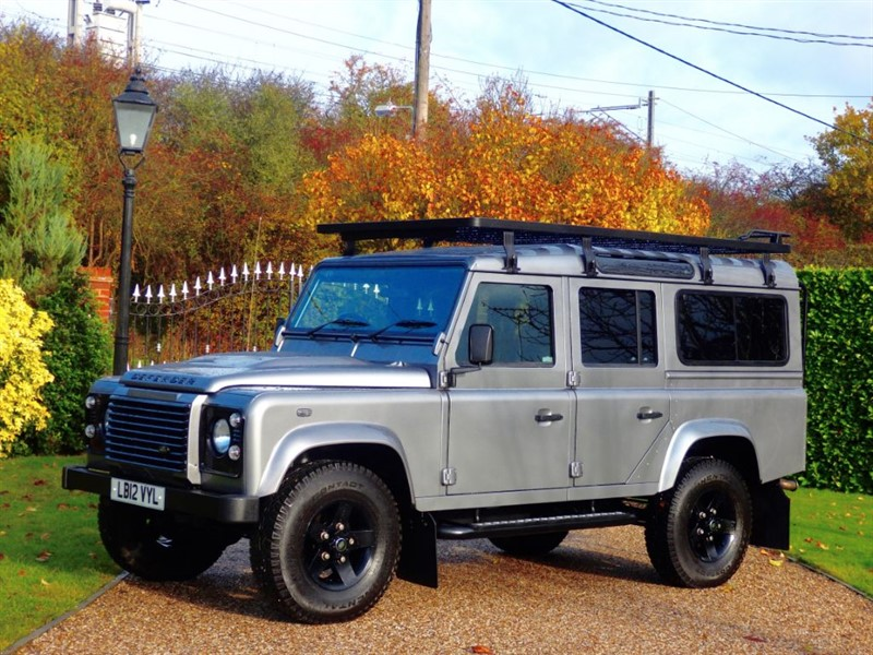 used Land Rover Defender 110 TDCI XS STATION WAGON WELL MAINTAINED! NICE EXTRAS!  in chelmsford-essex