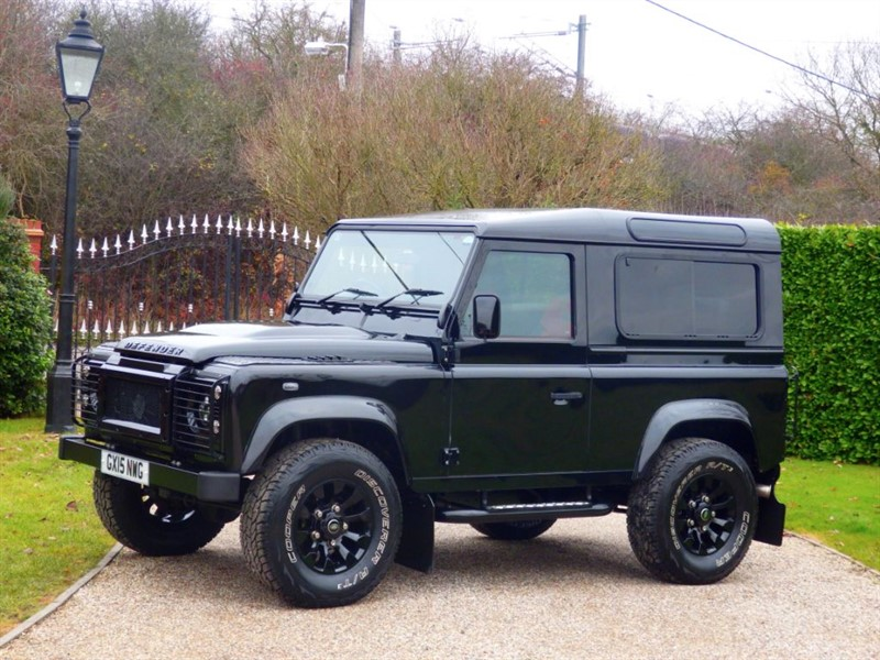 used Land Rover Defender 90 TDCI XS STATION WAGON! FULL LEATHER! GREAT SPEC! JUST 9,000 MILES! in chelmsford-essex