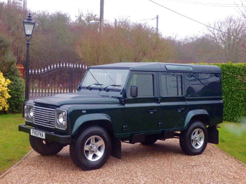 used Land Rover Defender 110 TDCI COUNTY UTILITY WAGON! LOVELY EXAMPLE! FULL HISTORY! NO VAT! in chelmsford-essex