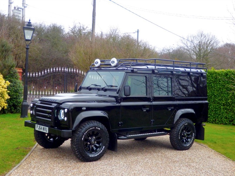 used Land Rover Defender 110 TDCI XS UTILITY WAGON FANTATSIC UPGRADES! NO VAT!  in chelmsford-essex