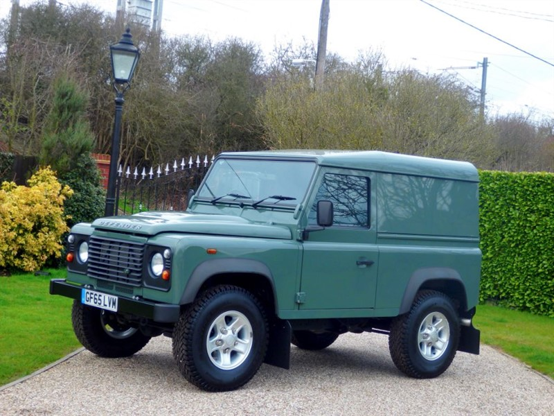 used Land Rover Defender 90 2.2 TDCI HARD TOP DELIVERY MILES ONLY! 1 OWNER! NO VAT! in chelmsford-essex