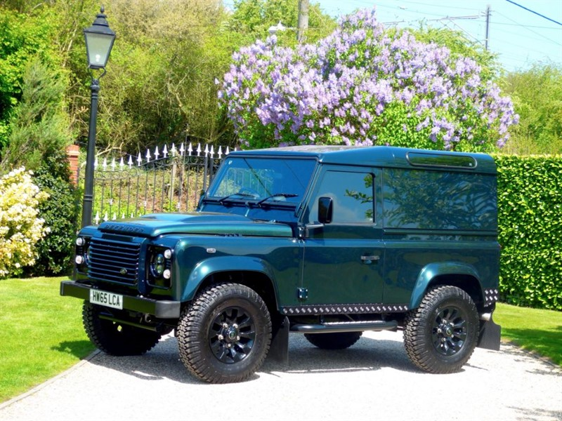 used Land Rover Defender 90 TDCI HARD TOP XS 2016 REGISTERED! 1 OWNER! FSH! NO VAT! in chelmsford-essex