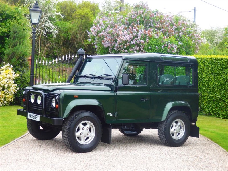 used Land Rover Defender 90 COUNTY STATION WAGON TD5 JUST 48K MILES! 1 FAMILY OWNER!  in chelmsford-essex