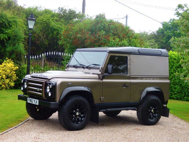used Land Rover Defender 90 TDCI X-TECH LE HARD TOP VERY RARE NARA BRONZE 1 OF 20 UK in chelmsford-essex