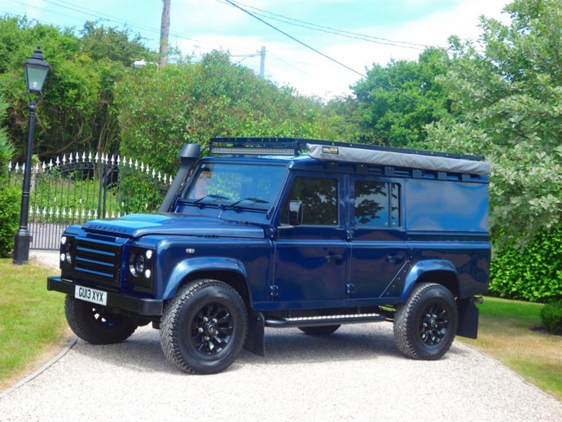 used Land Rover Defender 110 TDCI XS UTILITY WAGON HUGE SPECIFICATION! FSH! NO VAT! in chelmsford-essex