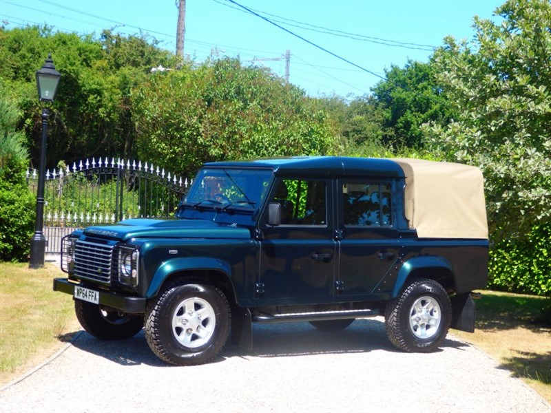 used Land Rover Defender 110 TDCI XS DOUBLE CAB PICKUP! NO VAT! JUST 21K MILES in chelmsford-essex