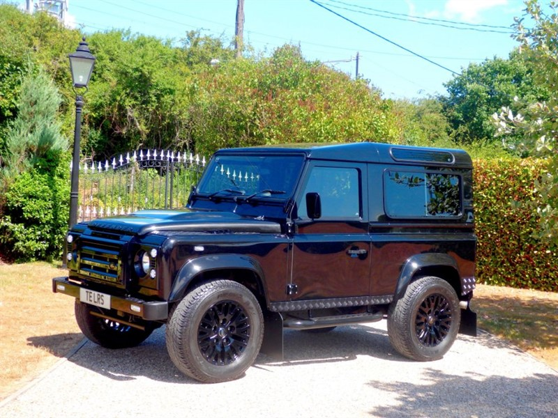 used Land Rover Defender 90 TDCI XS STATION WAGON JUST 14K MILES! KAHN ALLOYS! PREMIUM LEATHER SEATS in chelmsford-essex