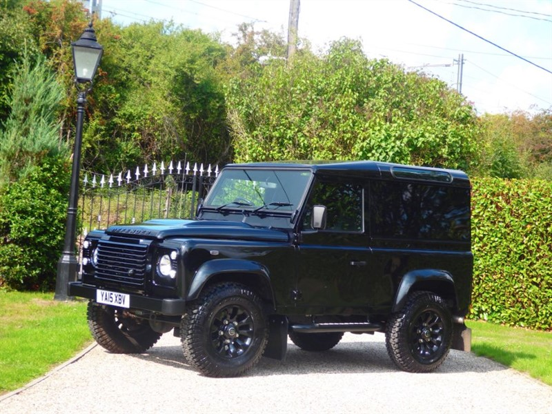used Land Rover Defender 90 TD HARD TOP XS in chelmsford-essex