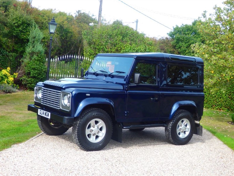 used Land Rover Defender 90 TDCI STATION WAGON RARE COLOUR! JUST 23,000 MILES! in chelmsford-essex