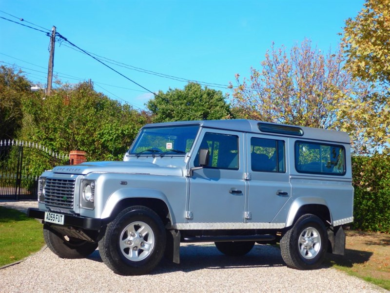 used Land Rover Defender 110 TDCI XS STATION WAGON 7 SEATER! VAT Q £20,500 + VAT in chelmsford-essex