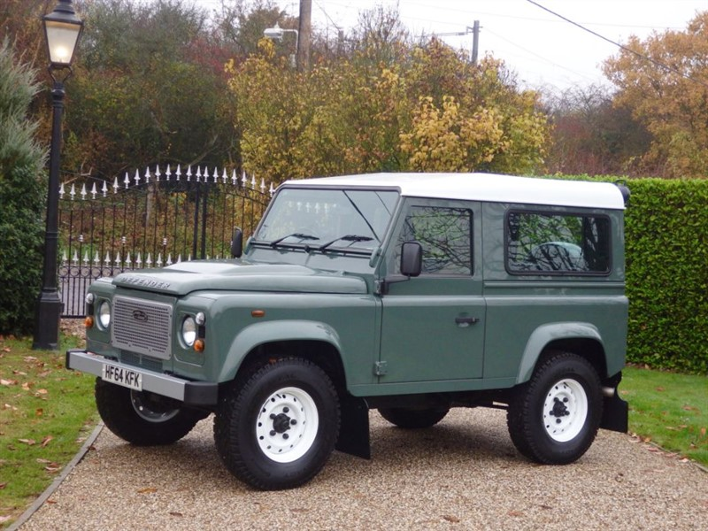 used Land Rover Defender 90 TDCI HARD TOP JUST 13,000 MILES! NO VAT! in chelmsford-essex