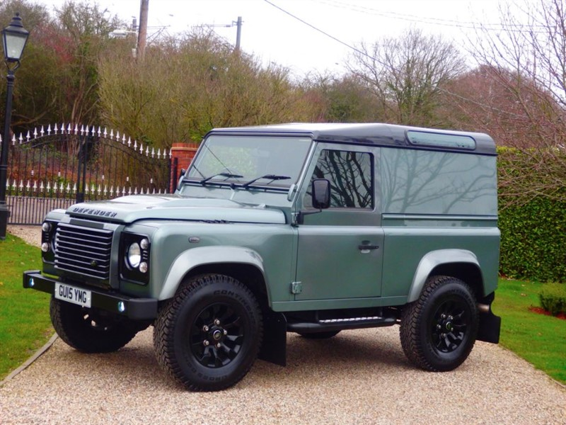 used Land Rover Defender 90 2.2 XS TDCI HARD TOP JUST 16K MILES RARE SCOTIA GREY! NO VAT! in chelmsford-essex