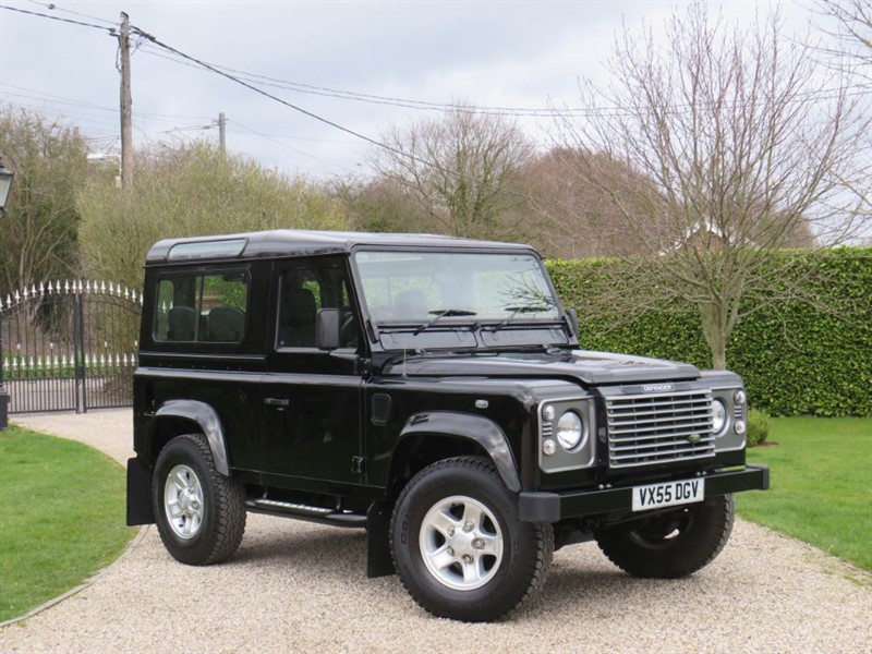 used Land Rover Defender 90 Td5 XS COUNTY STATION WAGON in chelmsford-essex