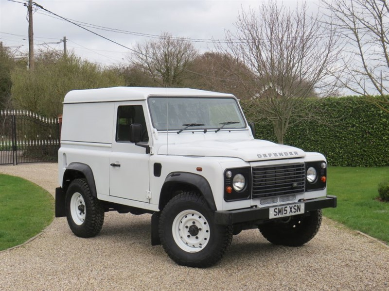 used Land Rover Defender 90 2.2 TDCI HARD TOP JUST 1,700 MILES 'VIRTUALLY AS NEW' in chelmsford-essex