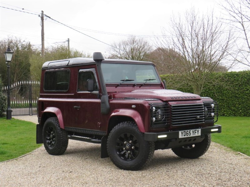 used Land Rover Defender 90 2.2 TDCI XS STATION WAGON! STUNNING COLOUR!  in chelmsford-essex