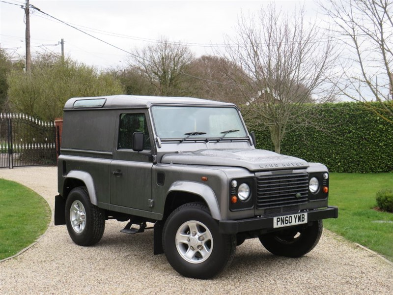 used Land Rover Defender 90 2.4 TDCI COUNTY HARD TOP SWB JUST 15,000 MILES!  in chelmsford-essex