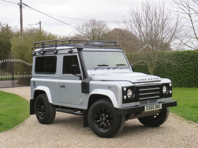 used Land Rover Defender 90 2.4 TDCI COUNTY STATION WAGON ROOF RACK! SAWTOOTH ALLOYS! in chelmsford-essex