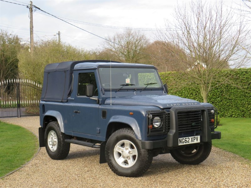 used Land Rover Defender 90 2.2 TDCI COUNTY PICK UP JUST 36K MILES! LOVELY EXAMPLE! in chelmsford-essex