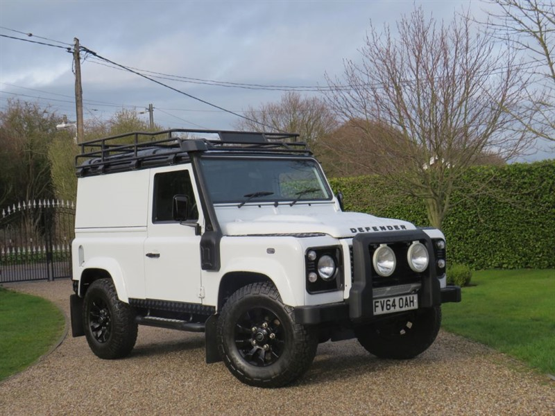 used Land Rover Defender 90 2.2 TDCI XS HARD TOP MANY EXTRAS! in chelmsford-essex