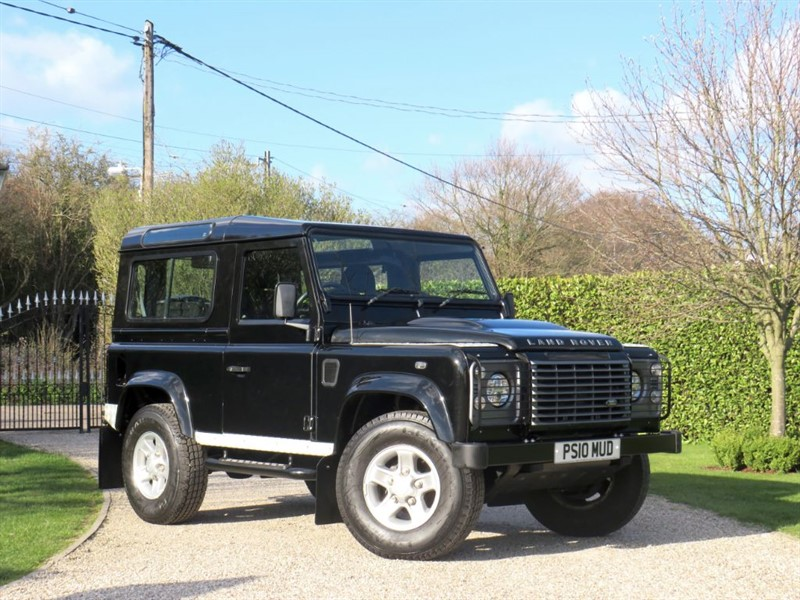 used Land Rover Defender 90 2.4 TDCI XS STATION WAGON FULL SERVICE HISTORY! JUST 41,000 MILES in chelmsford-essex