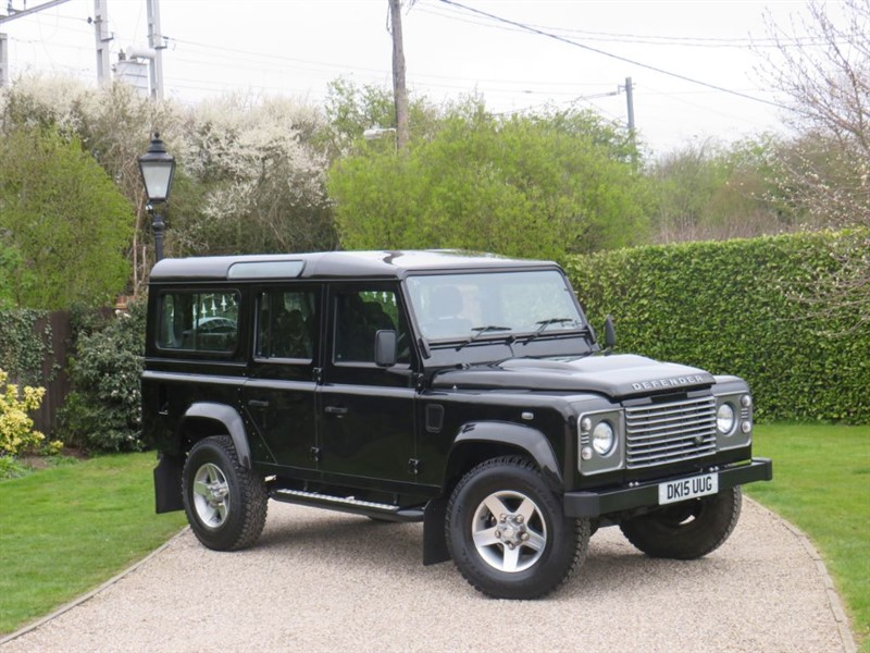 used Land Rover Defender 110 2.2 TDCI COUNTY STATION WAGON 7 SEATER! VAT Q - £27,000 + VAT in chelmsford-essex