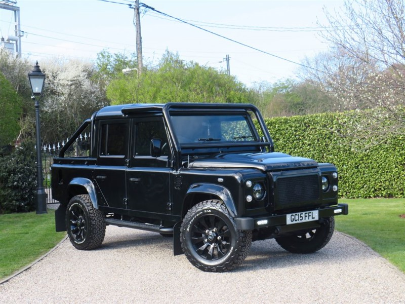 used Land Rover Defender 110 2.2 TDCI XS DOUBLE CAB PICKUP! HUGE SPECIFICATION! in chelmsford-essex