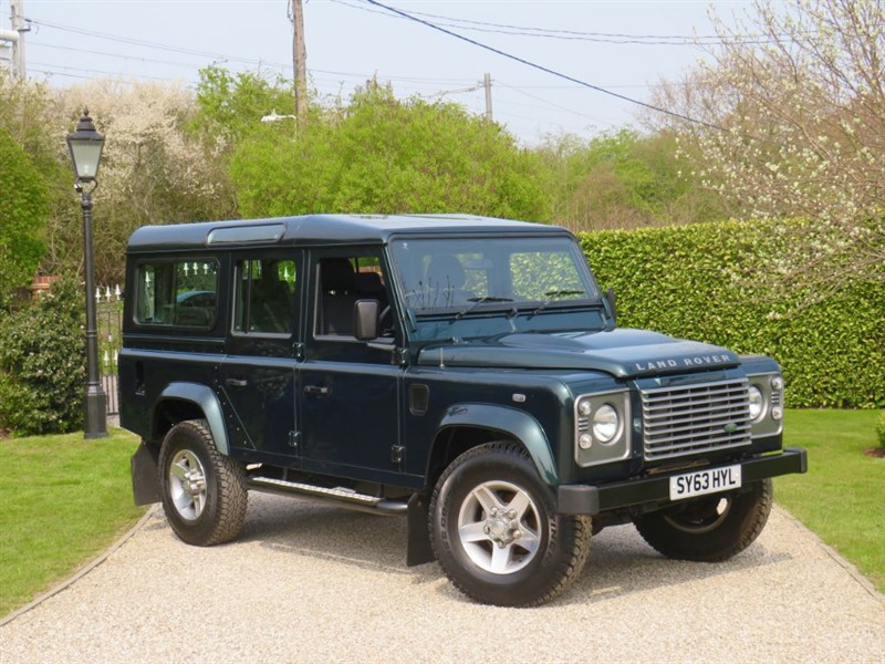 used Land Rover Defender 110 2.2 TDCI XS STATION WAGON 7 SEATER! AINTREE GREEN! in chelmsford-essex