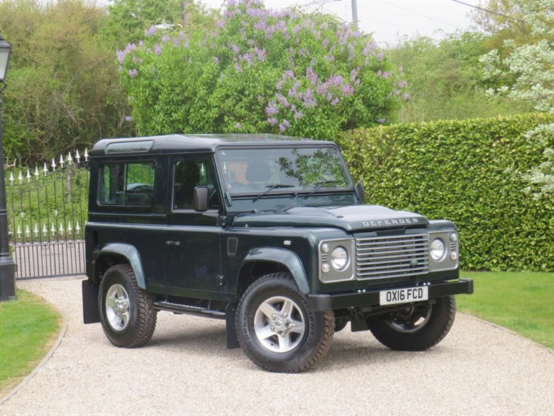 used Land Rover Defender 90 2.2 TDCI COUNTY STATION WAGON VAT Q 29,995.84 + VAT ONE OF THE LAST!  in chelmsford-essex