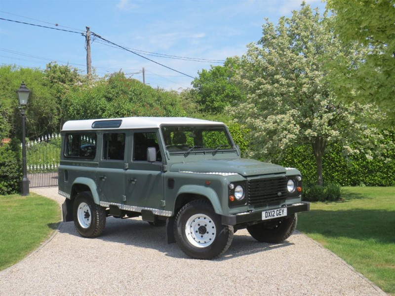 used Land Rover Defender 110 2.2 TDCI STATION WAGON JUST 48,000 MILES 7 SEATER in chelmsford-essex