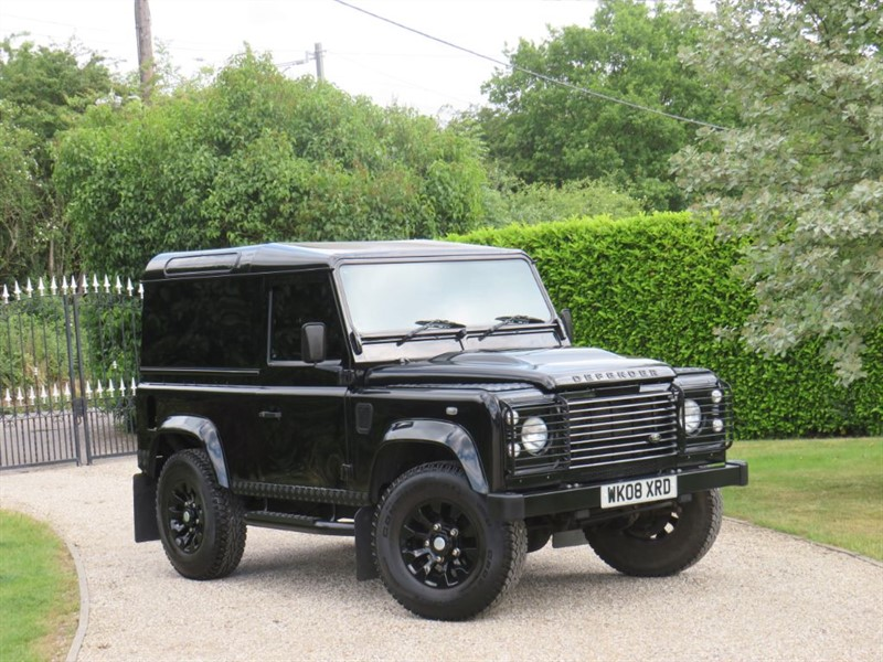 used Land Rover Defender 90 2.4 TDCI COUNTY HARD TOP WELL MAINTAINED! NICE EXTRAS! in chelmsford-essex
