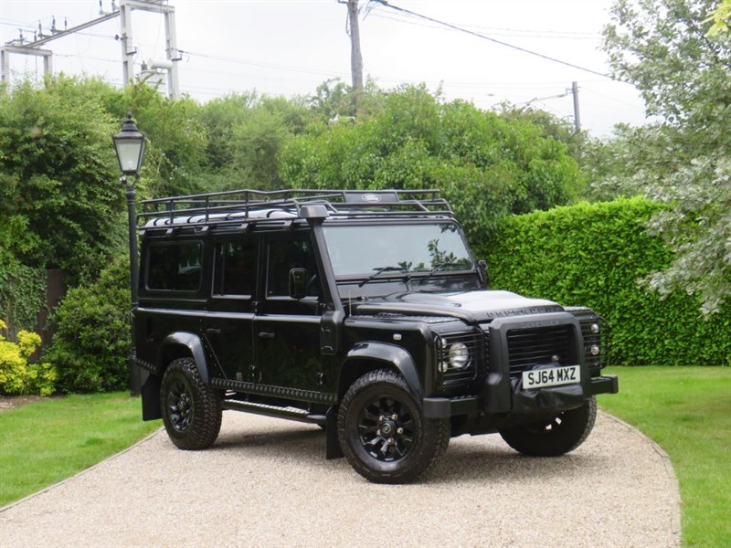 used Land Rover Defender 110 2.2 TDCI XS STATION WAGON FACTORY 'BLACK PACK' BIG SPEC! in chelmsford-essex