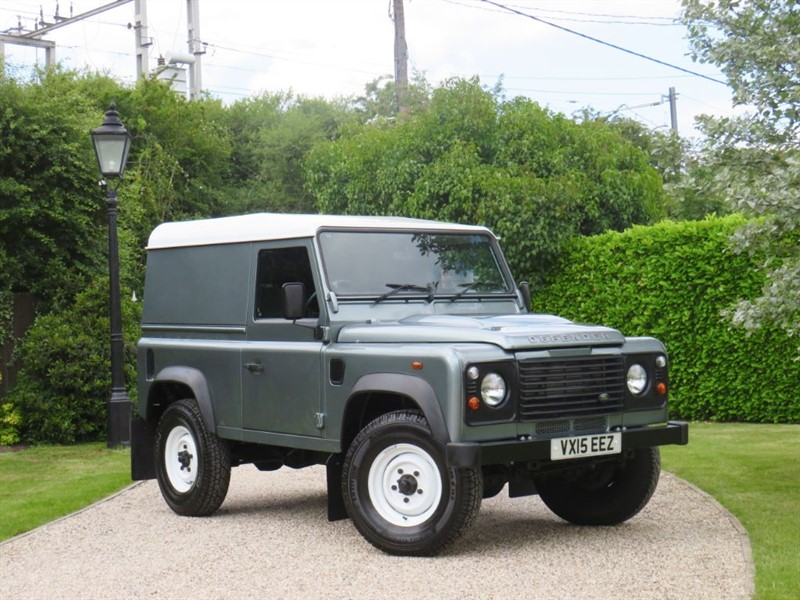 used Land Rover Defender 90 2.2 TDCI HARD TOP RARE COLOUR JUST 24,000 MILES in chelmsford-essex