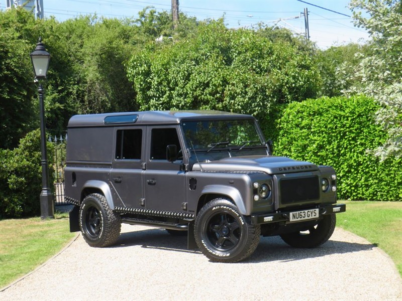 used Land Rover Defender 110 2.2 TDCI XS UTILITY WAGON TWISTED UPGRADES in chelmsford-essex