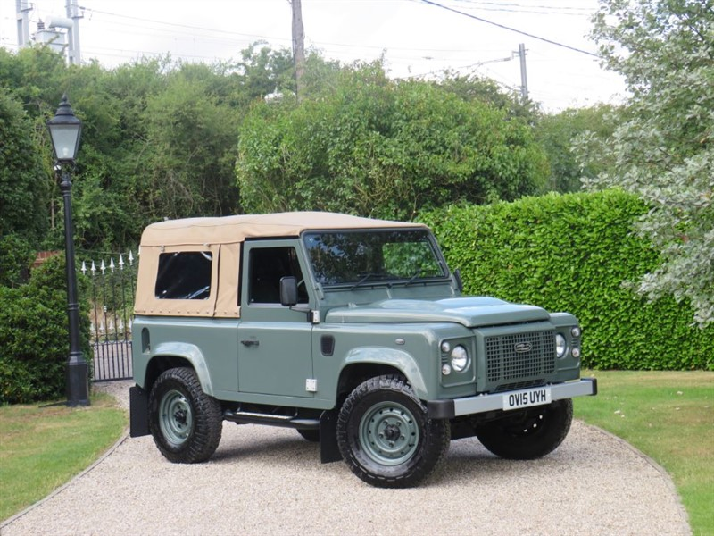 used Land Rover Defender 90 2.2 TDCI XS STATION WAGON FULL SOFT TOP CONVERSION! VAT INCLUSIVE! in chelmsford-essex