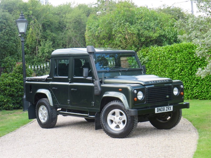 used Land Rover Defender 110 2.4 TDCI COUNTY DOUBLE CAB PICKUP NO VAT  in chelmsford-essex