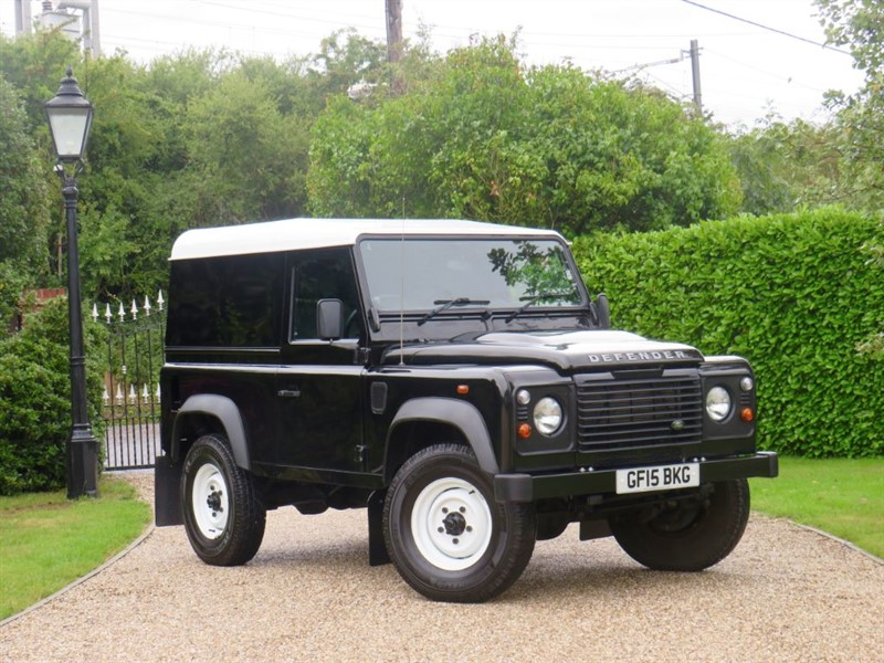 used Land Rover Defender 90 2.2 TDCI HARD TOP VERY CLEAN EXAMPLE! in chelmsford-essex