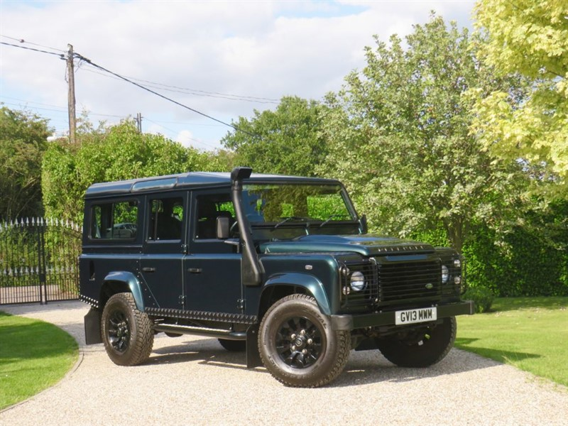 used Land Rover Defender 110 2.2 TDCI XS STATION WAGON 1 OWNER, FSH, JUST 11,000 MILES! in chelmsford-essex