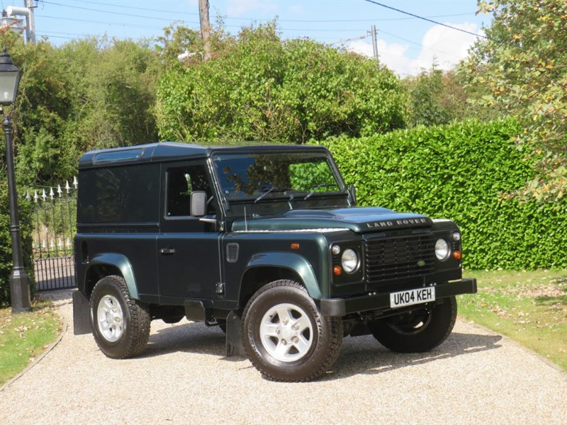used Land Rover Defender 90 2.4 TDCI COUNTY HARD TOP JUST 43,000 MILES! VERY CLEAN! in chelmsford-essex