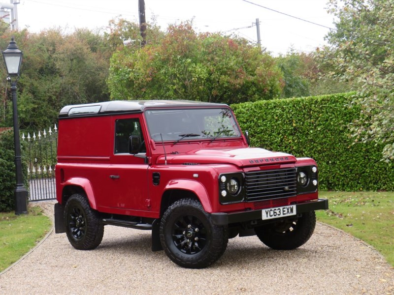 used Land Rover Defender 90 2.2 TDCI HARD TOP FANTASTIC COLOUR! NO VAT! in chelmsford-essex