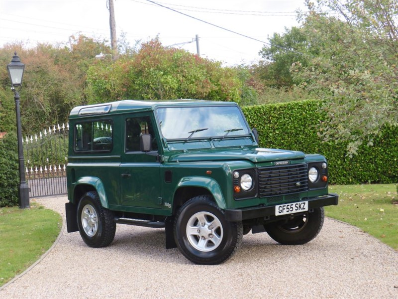 used Land Rover Defender 90 2.5 TD5 COUNTY STATION WAGON VERY WELL MAINTAINED! in chelmsford-essex