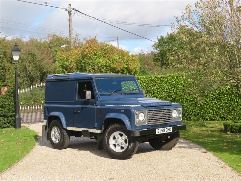 used Land Rover Defender 90 2.4 TDCI COUNTY HARD TOP NO VAT! JUST 44,000 MILES in chelmsford-essex