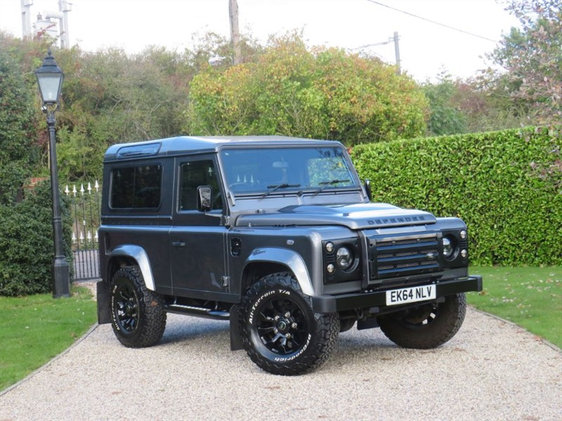 used Land Rover Defender 90 2.2 TDCI XS STATION WAGON FULL LR SERVICE HISTORY in chelmsford-essex