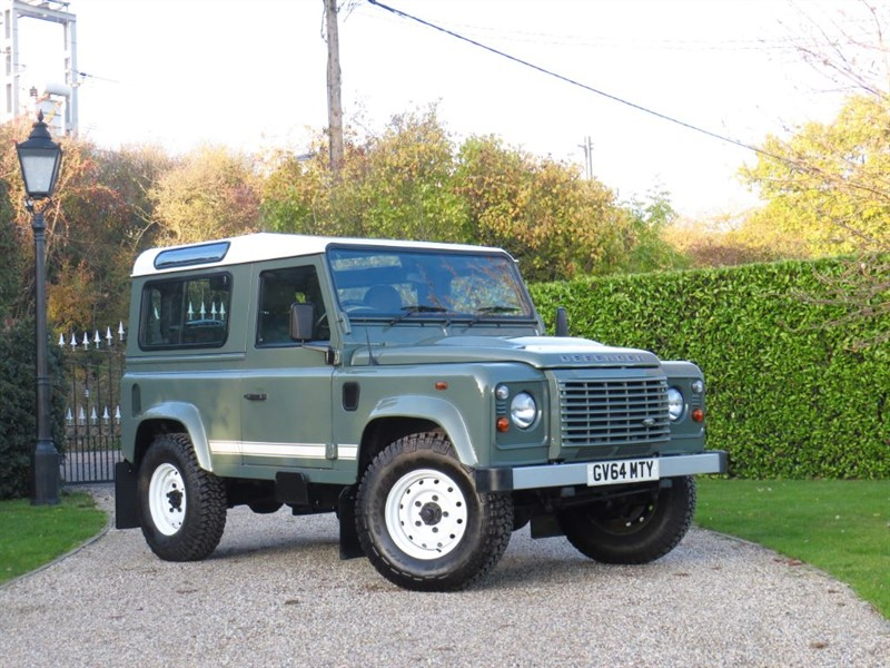 used Land Rover Defender 90 2.2 TDCI STATION WAGON! 'BALMORAL EDITION' TWEED INTERIOR!  in chelmsford-essex