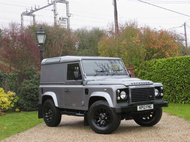 used Land Rover Defender 90 2.2 TDCI COUNTY HARD TOP GREAT EXTRAS! VAT Q in chelmsford-essex