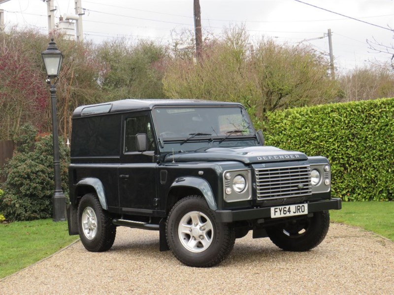 used Land Rover Defender 90 2.2 TDCI HARD TOP XS JUST 35,000 MILES!  in chelmsford-essex
